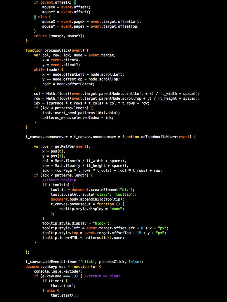 default javascript syntax